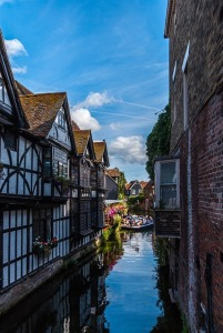 Canal in Canterbury